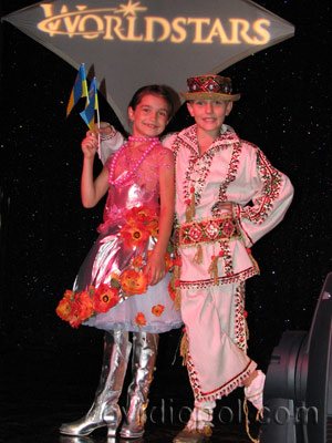 И.Белая и М.Панченко (пгт. Овидиополь, Украина)