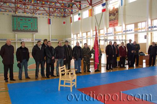 Турнир по дзюдо во Дворце спорта им.В.И.Дукова (пгт. Овидиополь).